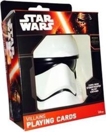 Star Wars The Force Awakens Speelkaarten in Stormtrooper helm
