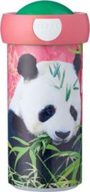 Mepal Campus Schoolbeker - Animal Planet Panda 300 ml
