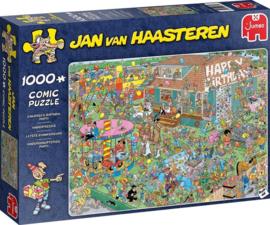 Jan van Haasteren - Verjaardagsfeest Puzzel (1000 stukjes)