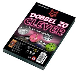 Spel Dobbel zo Clever Scoreblokken 2 stuks