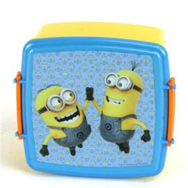 Lunchbox Minions Met Dubbele Clip