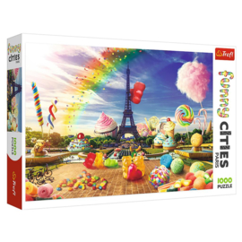 Puzzel Funny Cities Parijs
