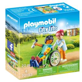 Playmobil 70193 Patient in Rolstoel