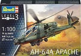 AH-64A Apache - 1:100