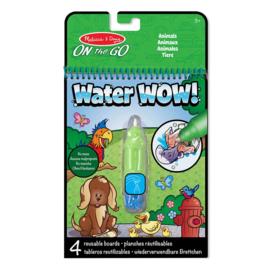 Verven met water Dieren / Water Wow