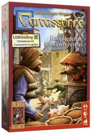 Carcassonne: Kooplieden & Bouwmeesters (uitbreiding)