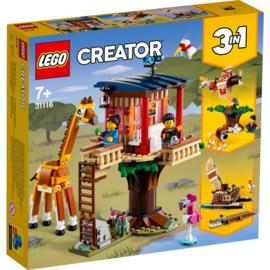 LEGO Creator 31116 3 in 1 Safari wilde dieren boomhuis