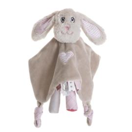 Jipy Luxe Knuffeldoekje Hond Roze