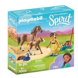 Playmobil 70122 Pru Met Paard en Veulen
