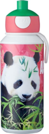 Mepal Pop-up Drinkfles - 400 ml - Animal Planet Panda