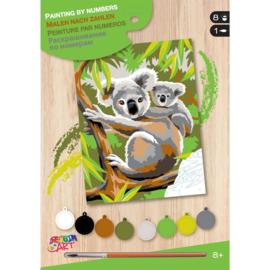 Schilderen op nummer Koala