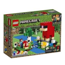 LEGO Minecraft Schapenboerderij