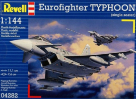 Eurofighter Typhoon Single Seat Revell: schaal 1:144