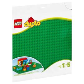 LEGO DUPLO 2304 BOUWPLAAT GROEN 24X24 NOPPEN