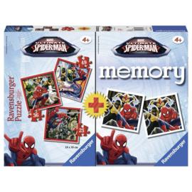 Memory met Puzzels Spiderman