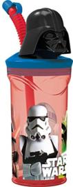 Drinkbeker Star Wars 3D Met Rietje