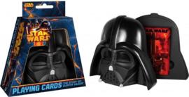 Star Wars The Story of Darth Vader Speelkaarten in Darth Vader Helm