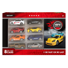 Auto Die-Cast Set 8