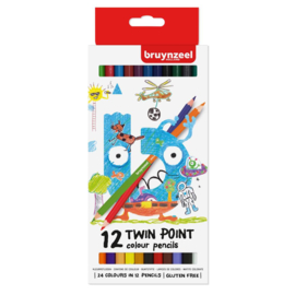 Bruynzeel Twin Point Kleurpotloden (12 stuks)