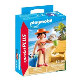Playmobil 70300 Vakantieganger met Strandstoel