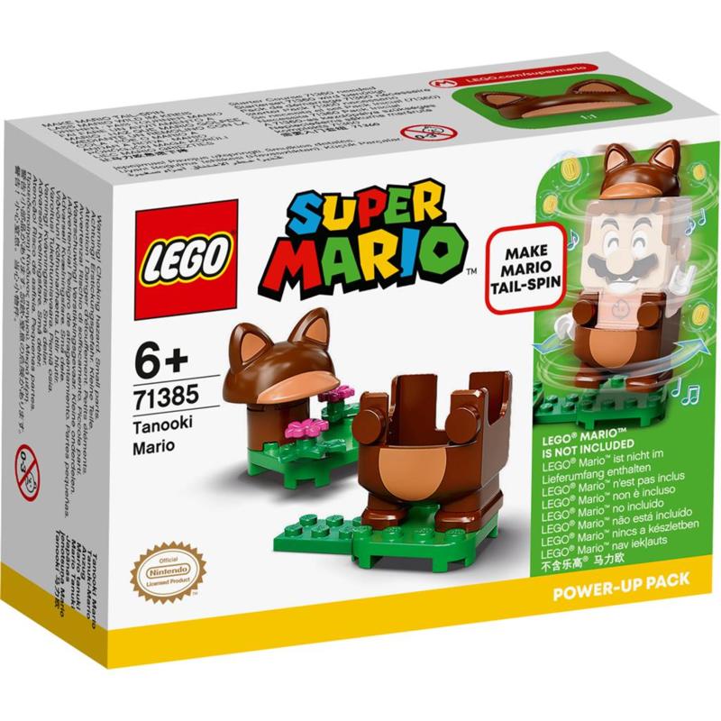 Lego Super Mario  71385 Power-up pakket: Tanuki-Mari
