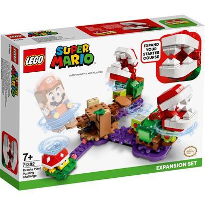 Lego Super Mario 71382 Uitbreidingsset : Piranha Plant-puzzeluitdaging