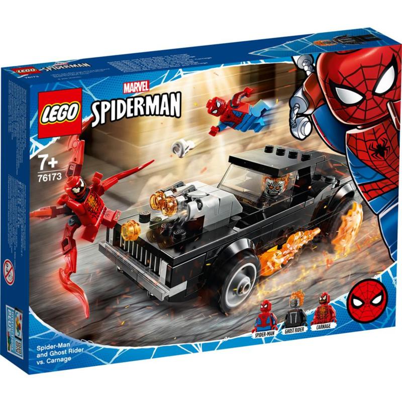 Lego Marvel Spider-man 76173 Spiderman en Ghostrider vs Carnage