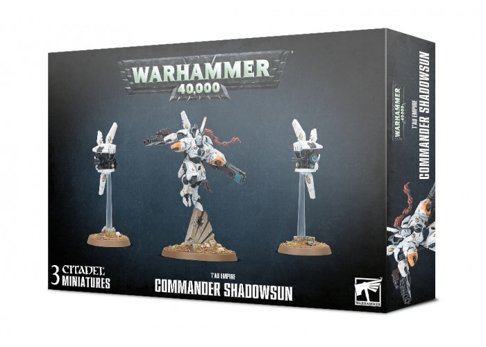 T'au Empire : Commander Shadowsun
