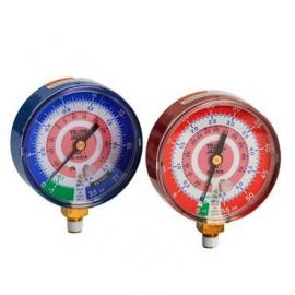 Yellow Jacket manometer Heatpomp R410A hg