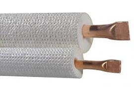 EBRILLE-2320 duo geisoleerde koelleiding 1/4-3/8 Rol 20 meter