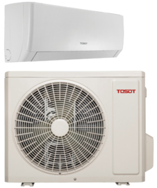 TOSOT PULAR 2,5kW R32 inverter set by GREE (wifi)