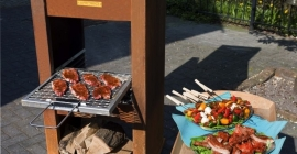 JAbq barbecue rooster maak van uw JAbq een BBQ