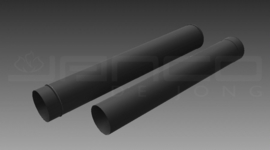 131 mm originele schuifpijp 100 tot 200 cm