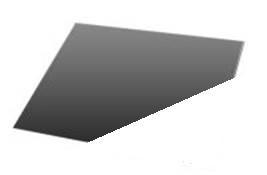 Vloerplaat origineel (hoekmodel) 99 x 99 cm