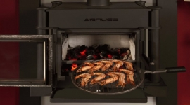 BBQ rooster voor JAnus & JAcobus houtkachel