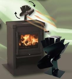Eco ventilator - Warmte aangedreven ventilator - Ecofan