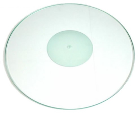 Tonar Crystal draaitafel/platenspeler-mat