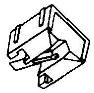 Aiwa AN36 wit pick-upnaald = Tonar 822 Diamant Stereo