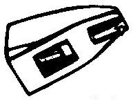 Ortofon Stylus 12 New - OMB-12 zwart pick-upnaald ORIGINEEL = Tonar 1318
