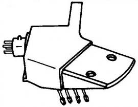 Supraphon 8AK425000 headshell 420 = Tonar 3124