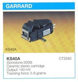 Overige typen elementen Garrard: MicroMel-vervangers