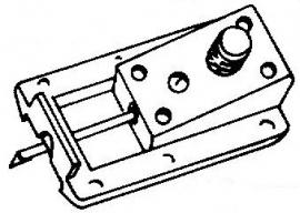 Sony ND20 G / VC20 zilver pick-upnaald = Tonar 1303 ORIGINEEL