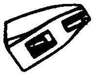 Numark CC-1 zilver pick-upnaald = Tonar 6813