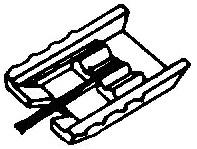 Grado B-series grijs pick-upnaald = Tonar 468 Diamant Stereo