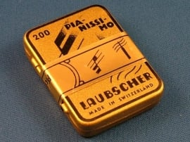 Laubscher Pianissimo stalen naald 15,5 x 0,8 mm (PPP) doosje 200 stuks