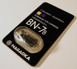 Nagaoka BN-7B cartridge montageschroefjes kleur zwart