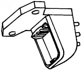 Bang & Olufsen adapter voor MMC20 /  RETMA =Tonar 3156