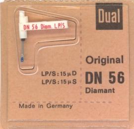Dual DN 56 pick-upnaald diamant - safffier = ORIGINEEL