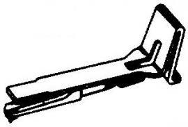 Tannoy MK-II pick-upnaald  = Tonar 213 Diamant Normaal 78-Toeren