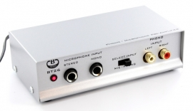 B-Tech BT26 voorversterker phono MD - microfoon